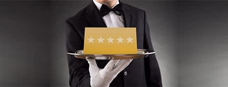 our 5 star services