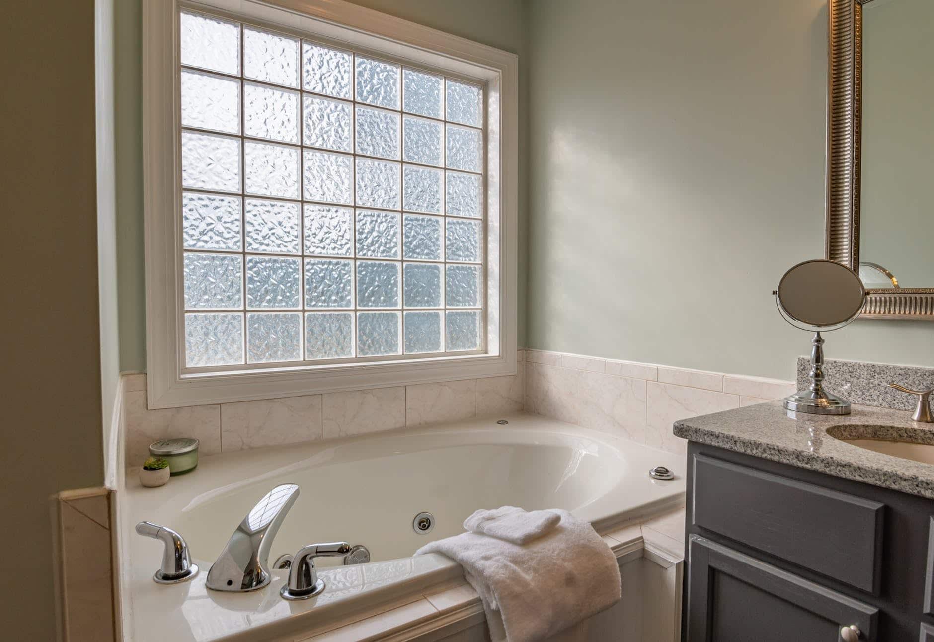 luxury bathroom rennovation