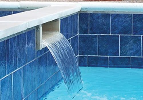 swimming pool tiling